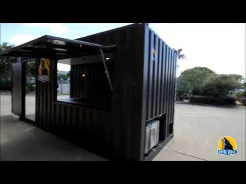 20ft pop up container shop youtube. Black Bedroom Furniture Sets. Home Design Ideas