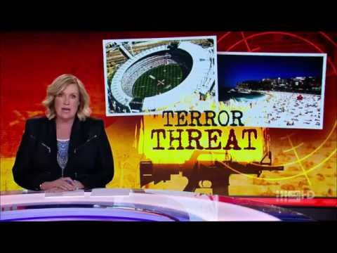 ACA. Terror Threat. (Jihad On Australian Italians, Greeks and Sports Sites)