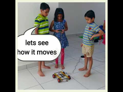 STEM and Robotics summer camp fun