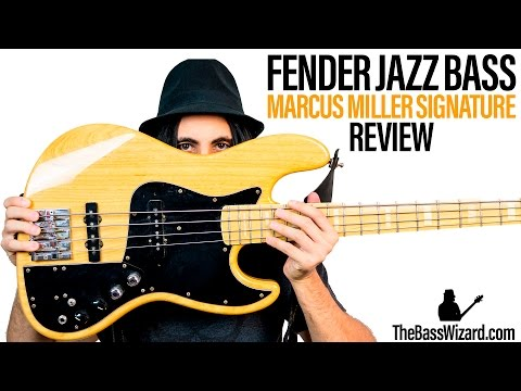 Download Youtube: Fender Jazz Bass Review and Demo - Marcus Miller Signature (The Bass Wizard)