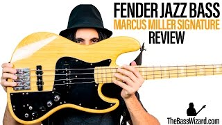 fender jazz bass review and demo marcus miller signature the bass wizard