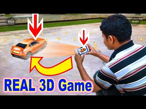 An Augmented Reality Games Feels as 3D & Holographic | Toyota 86 AR Game