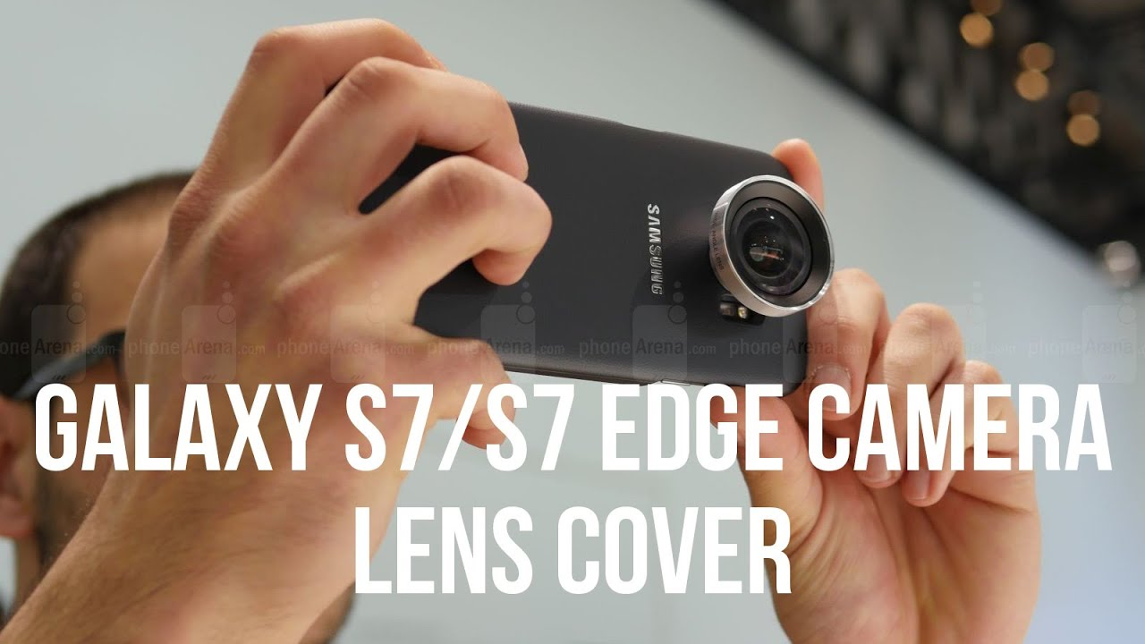 finest selection 3457e 86872 Camera Lens cases for Samsung Galaxy S7/S7 edge hands-on: useful, but bulky?