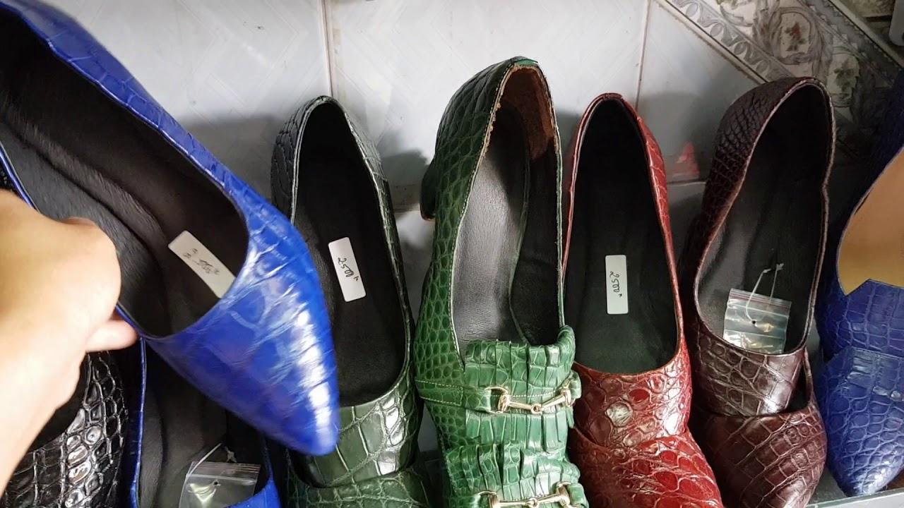 Giày da cá sấu nữ da thật 100% sale còn 1990k