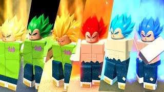 Update! DRAGON BALL SUPER NEW VEGETA GOD OF THE MOVIE BROLY NO ROBLOX! DRAGON BALL RP