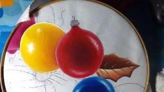 Pintura en tela esferas 2 con cony