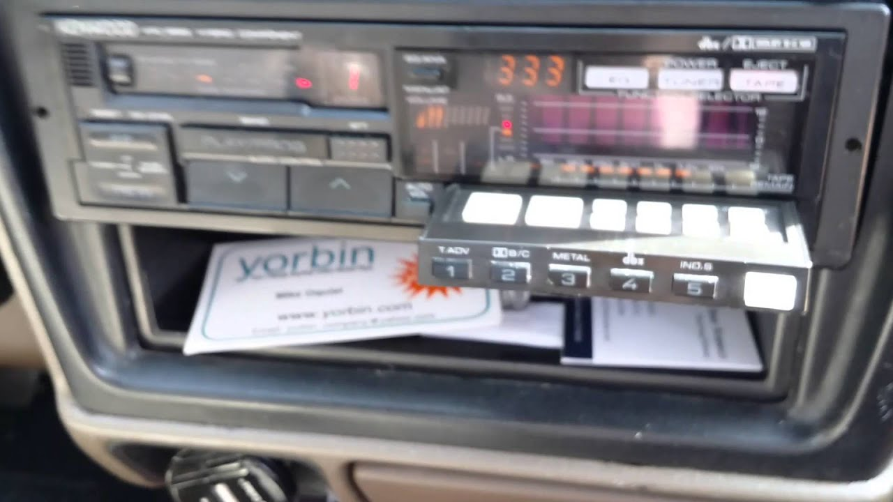 Kenwood Krc-999 Ii Hybrid Component Cassette Tuner