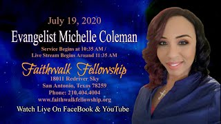 "Evangelist Michelle Coleman - ""Free from Entanglement"""