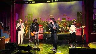 "(HQ) The Strokes - ""Taken For A Fool"" 3/23 Letterman (TheAudioPerv.com)"