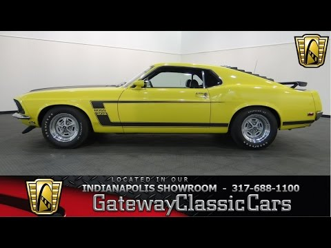 1969 Ford Mustang Boss 302 - Gateway Classic Cars Indianapolis - #583 NDY
