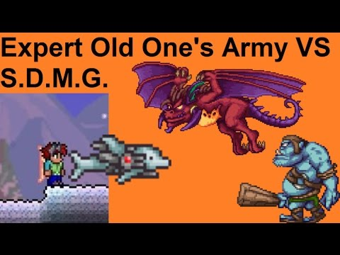 Terraria - Expert Old One's Army VS S.D.M.G.