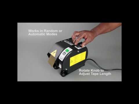 Tach-It Y-Z-CUT5 Heavy Duty Semi-Automatic Definite Length Tape Dispenser Machine