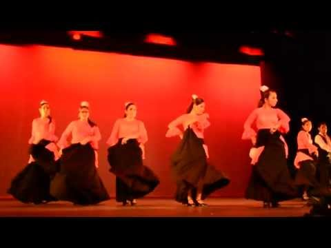 Mi Estrella Blanca - Fondo Flamenco: Presentación Final, Danza Española.