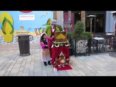 Christmas Monkey Street Organ