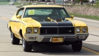 Test Drive - 1970 Buick GSX 455 Stage One V8 Tribute Muscle Car