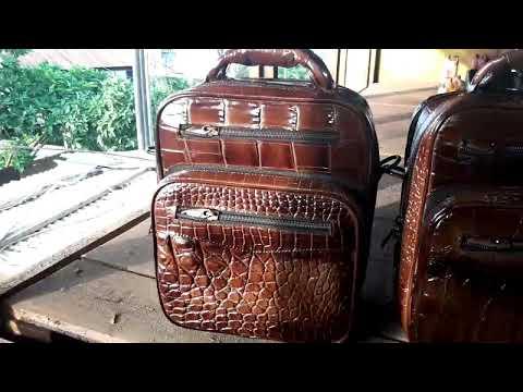Tas Komando tas kerja kulit buaya | Original Merauke Hand made