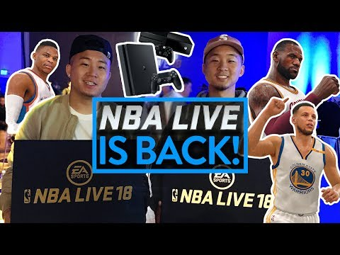 BEST NBA VIDEO GAME EVER??! NEW NBA LIVE 18 GAMEPLAY PREVIEW