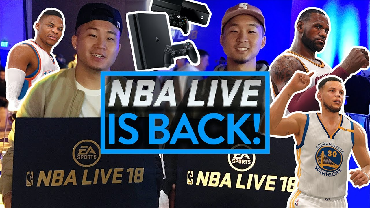 d6018fff409 BEST NBA VIDEO GAME EVER  ! NEW NBA LIVE 18 GAMEPLAY PREVIEW - YouTube