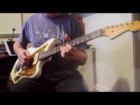 Fender Squier J Mascis Jazzmaster & Axe-FX II AC30