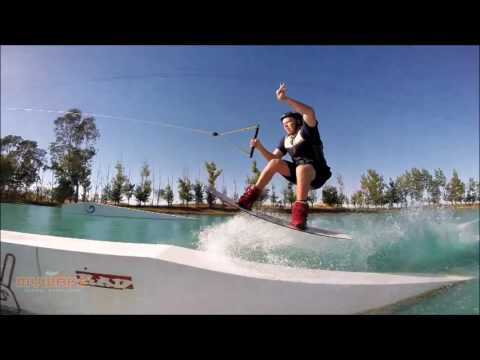 Wake Island  - X Blades  - Wakeboard - Battle of the Cable Parks - Pro Men