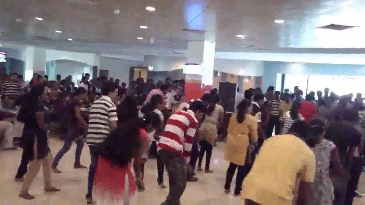 Celebrating Cognizant 2012 Flash Mob Chennai,India - YouTube