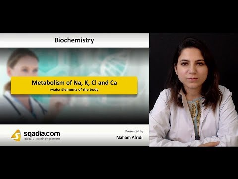 Metabolism Of Na, K, Cl And Ca | Biochemistry Lectures | Medical Education | V-Learning