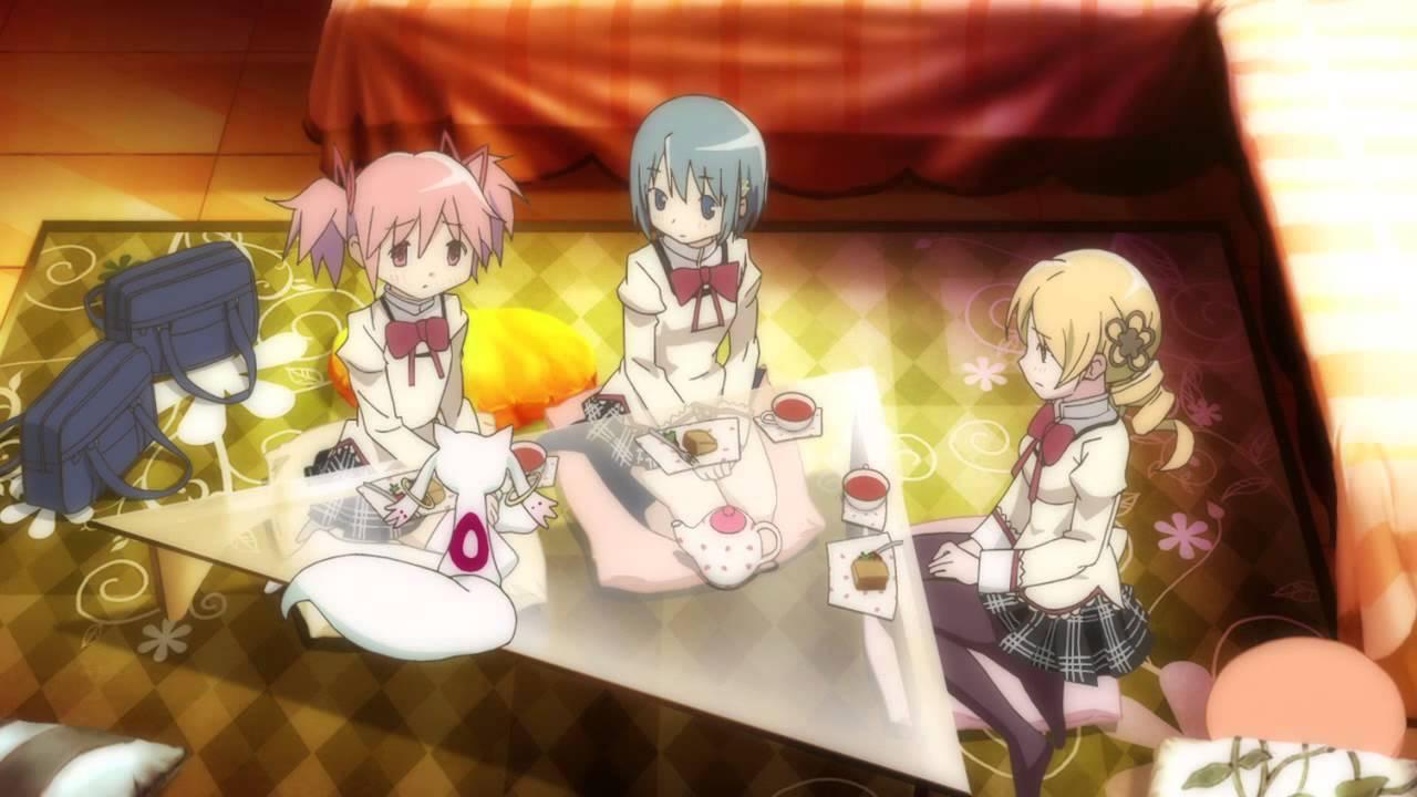 Interactive Anime Wallpaper Puella Magi Madoka Magica Movie Mami S House Part 2