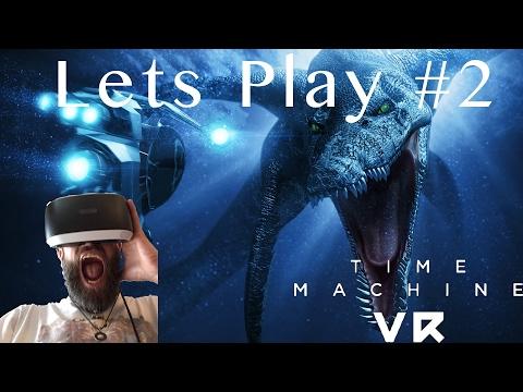 Time Machine VR Lets Play PSVR Deutsch#2 Dakosaurus, Titanitus
