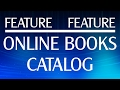 Feature Feature: Online Books Catalog