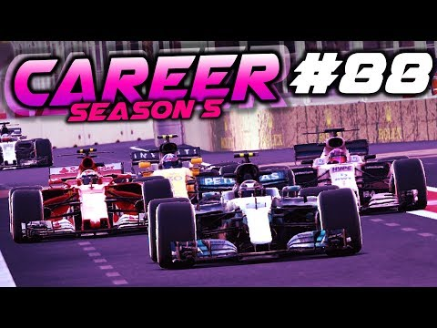 OVERTAKE IN THE PITLANE - F1 2017 Career Mode Part 88