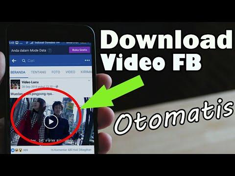 Cara Download Video di Facebook Secara Otomatis, Enak !!!