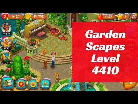 Gardenscapes Level 4410