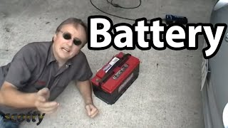 How to properly maintain your car's battery quickly and easily.