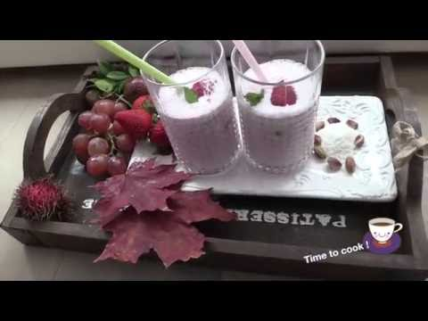 Рецепт Как приготовить клубничный коктейль в домашних условиях