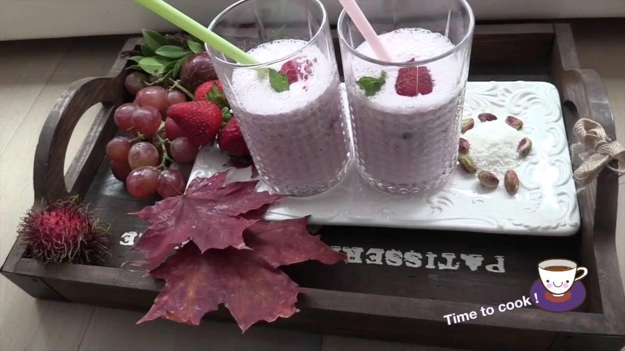 Как сделать клубничный коктейль в домашних условиях с мороженом 914