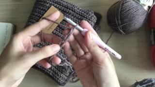 Móc mách nhập môn - Khăn móc giả đan (Len Lẻn Lèn Len)