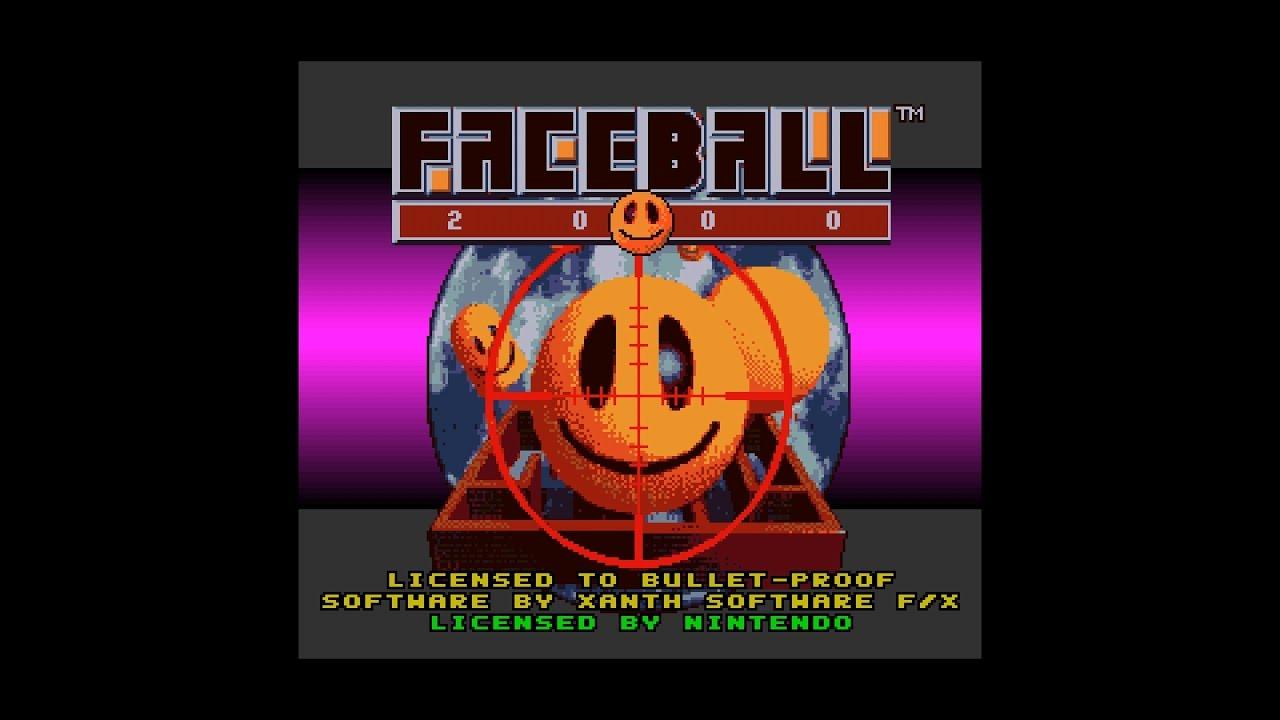 faceball snes