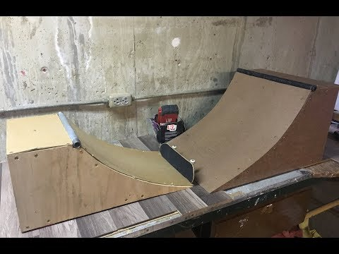 How to Make a Handboard Quarterpipe