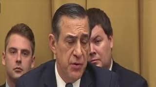Rosenstein responds to Darrell Issa asking about bias