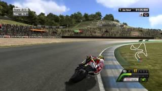 "Moto GP 13: Gameplay #4- ""Jerez MotoGP 2012 Valentino Rossi"" FR | [HD]"
