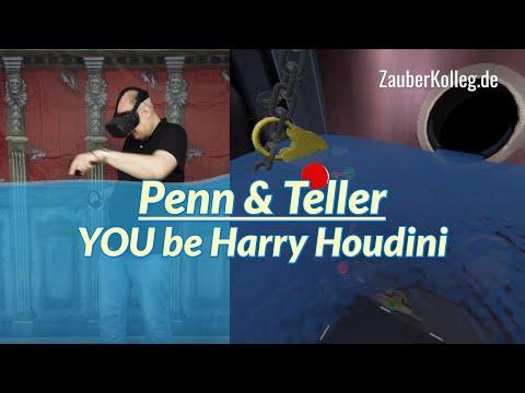 Penn & Teller VR - YOU be Harry Houdini |