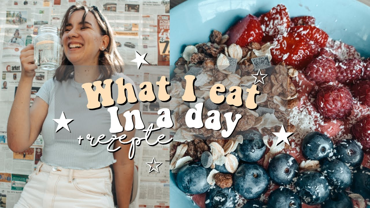 What I eat in a day // Food diary // Lorena
