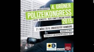 4. Grüner Polizeikongress – Diskussion mit Prof. Dr. Bellina und Holger Münch