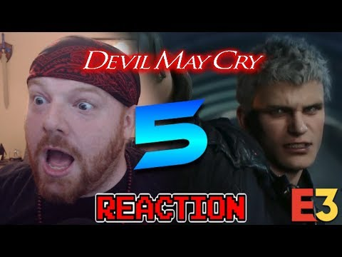 IT'S REAL!!! - DEVIL MAY CRY 5 - KRIMSON KB REACTS