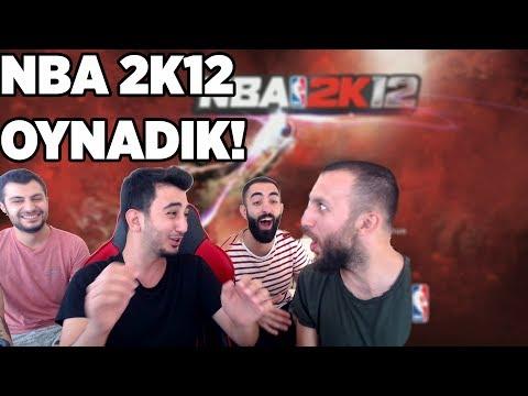 """ABİMLE """"NBA 2K12"""" OYNADIK! NBA 2K Nostalji Serisi"""