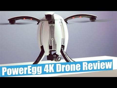 PowerVision PowerEgg Drone Full Review | Drone Footage 4K