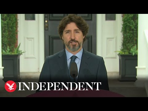 Watch: It took Canadian PM Justin Trudeau 20 full seconds to ...
