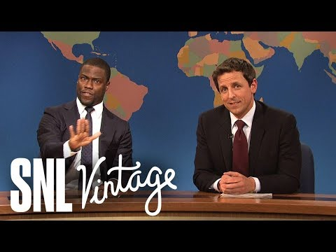 Weekend Update: Really!?! Justice Scalia's Views on the Voting Rights Act ft. Kevin Hart  SNL