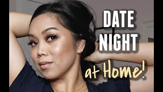 Date Night at HOME! -  ItsJudysLife Vlogs