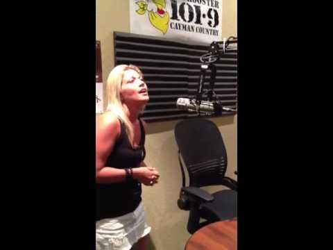 Rooster 101 Cayman: Katie Love Hess LIVE in studio